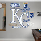 Kansas City Royals Alternate Logo Wall Decal