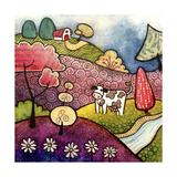 Loretta's Farm Giclee Print by Sandra Willard