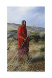 Lone Warrior 1 Giclee Print by Trevor V. Swanson