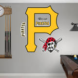 Pittsburgh Pirates Logo Wall Decal