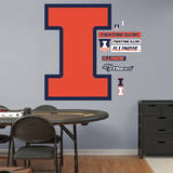 Illinois Fighting Illini Logo Wall Decal