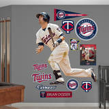 Brian Dozier Wall Decal
