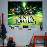 Teenage Mutant Ninja Turtles Movie Mural Wall Mural