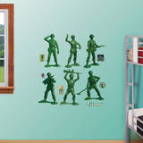 Toy Story Army Men Collection Wall Decal