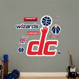 Washington Wizards Alternate Logo Wall Decal