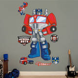 Transformers Rescue Bots Optimus Prime Wall Decal