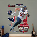 JJ Watt - Defensive End Wall Decal