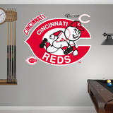 Cincinnati Reds Classic Logo Wall Decal