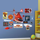 Disney Planes Fire and Rescue Blade Ranger Wall Decal