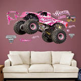 Monster Jam: Madusa Wall Decal