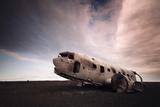 Iceland Plane Wreck Photographic Print by Nina Papiorek