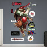 Raphael - TMNT Movie Wall Decal