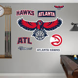 Atlanta Hawks Logo Wall Decal