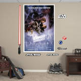 Star Wars Epsode V: The Empire Strikes Back Movie Poster Mural Wall Mural