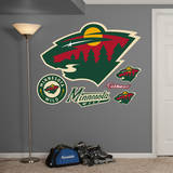 Minnesota Wild Logo Wall Decal