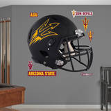 NCAA Arizona State Sun Devils 2014 Black Helmet Wall Decal