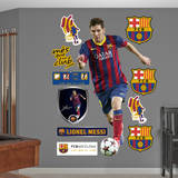 Lionel Messi - No. 10 Wall Decal