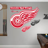 Detroit Red Wings Logo Wall Decal