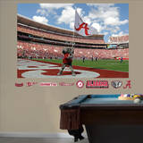 Alabama Crimson Tide Big Al Flag Mural Wall Mural