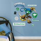 Skylanders Stealth Elf - Fathead Jr. Wall Decal