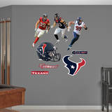 JJ Watt Hero Pack Wall Decal