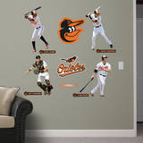 Baltimore Orioles Power Pack Wall Decal