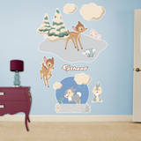 Bambi and Thumper Classic Tales Wall Decal