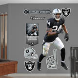 Charles Woodson Wall Decal