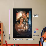 Star Wars Episode II: Attack of the Clones Movie Poster Mural Wall Mural