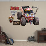 Monster Jam: Zombie Wall Decal