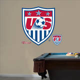 Team USA Soccer Crest Wall Decal