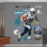Danny Woodhead Wall Decal