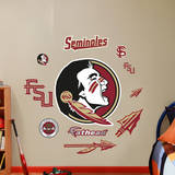 Florida State Seminoles Logo Assortment - Fathead Jr. Wall Decal