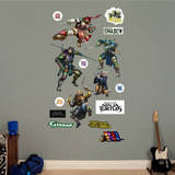 Teenage Mutant Ninja Turtles Movie Collection Wall Decal