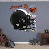 Oregon State Beavers Black Helmet Wall Decal