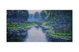 Lilyscape Giclee Print by Bruce Dumas