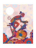 Indoor Cycling Giclee Print by Teofilo Olivieri