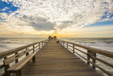 Naples Pier 3 Photographic Print by Dennis Goodman