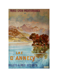 Lac D'Annecy III Giclee Print