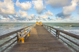 Naples Pier 4 Photographic Print by Dennis Goodman
