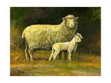 Mother of Twins Giclée-tryk af Jerry Cable
