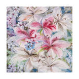 Lily Patch Giclee Print by li bo