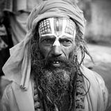 Nepal Saddhu I Fotodruck von Nina Papiorek