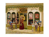 Jacob's Pharmacy Giclee Print by Lee Dubin
