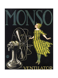 Monso Fans Giclee Print