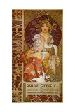 Mucha Guide Officiel Giclee Print