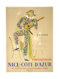 Nice Cote D Azur Giclee Print