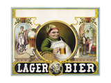 Lager Bier Impressão giclée