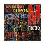 Metro Giclee Print by Karen Williams