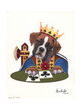 King of Clubs Giclee Print by Jenny Newland